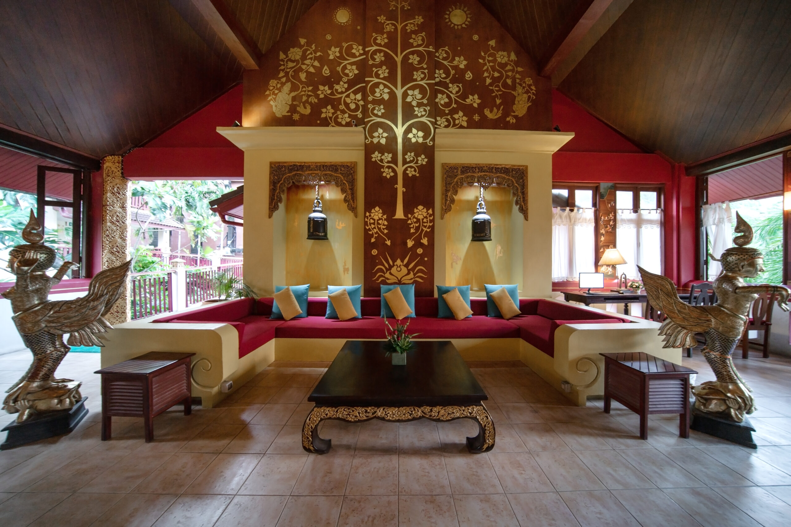 Lobby Kata Palm Resort