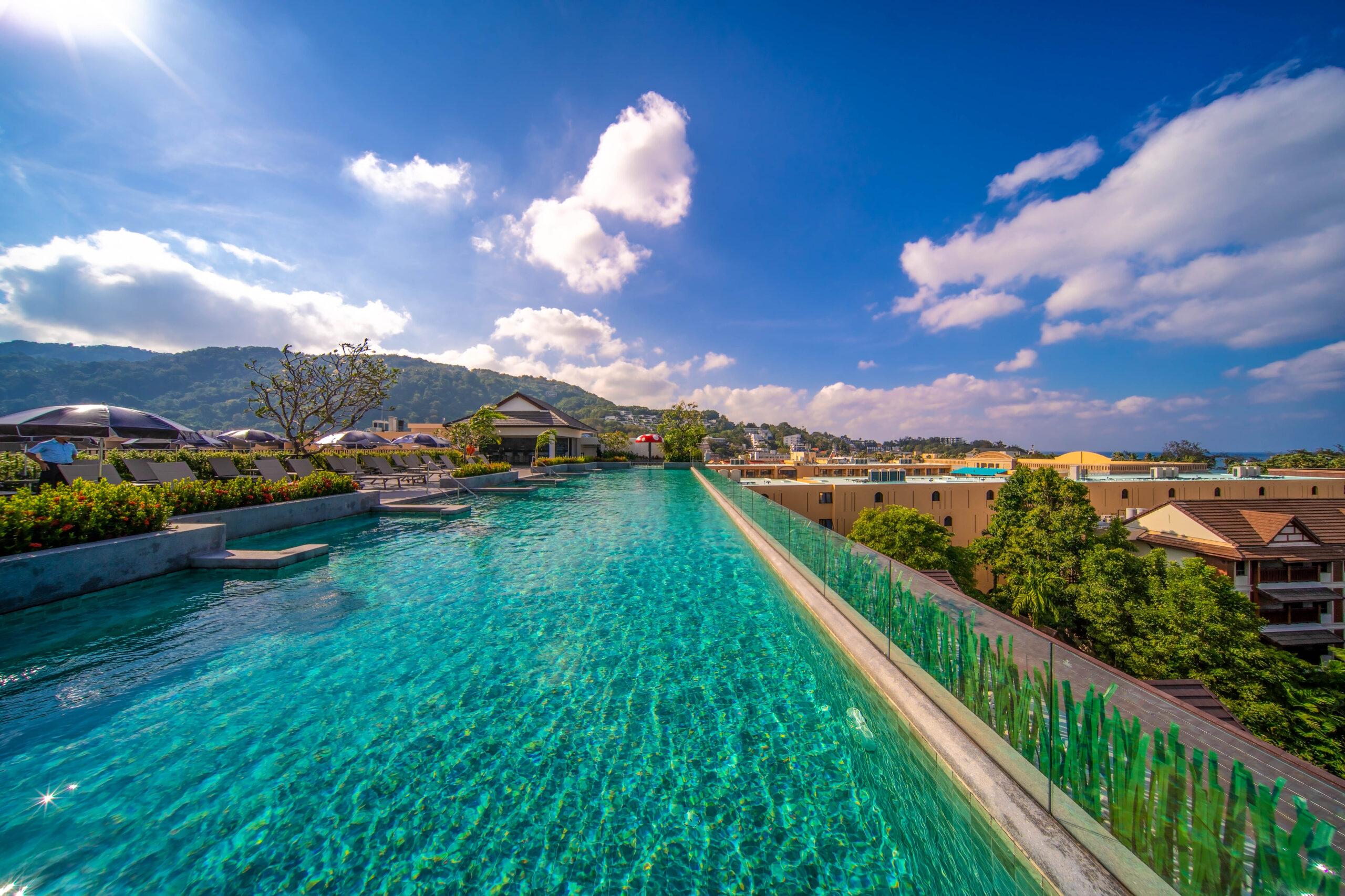 Royal Blue Wing Pool ,Kata Palm Resort